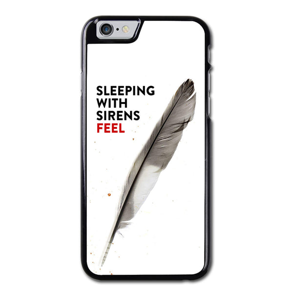 Sleeping With Sirens Feel White iPhone 6 Case