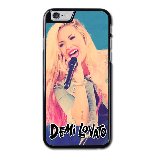 Demi Lovanto Vintage Poster Phonecase For iPhone 6/6S Case