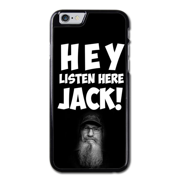 Duck Dinasty Hey Jack Phonecase For iPhone 6/6S Case