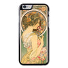Alphonse Mucha Primrose Art Nouveau M Phonecase For iPhone 6/6S Case