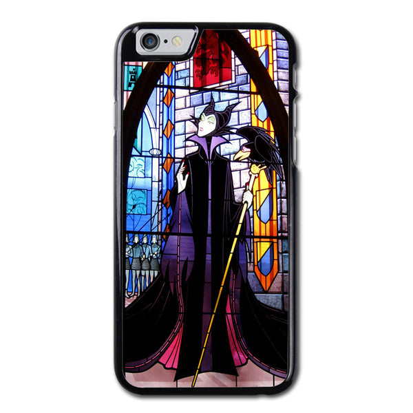 Maleficent Sleeping Beauty Glass M Phonecase For iPhone 6/6S Case