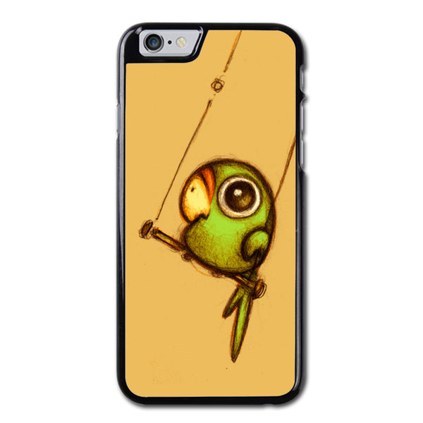 Cute Parrot Drawing Phonecase For iPhone 6/6S Case