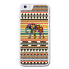 Vintage Aztec Tribal With Colorful Elephant Phonecase For iPhone 6/6S Case