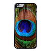 Purple Peacock Print Feather Phonecase For iPhone 6/6S Case