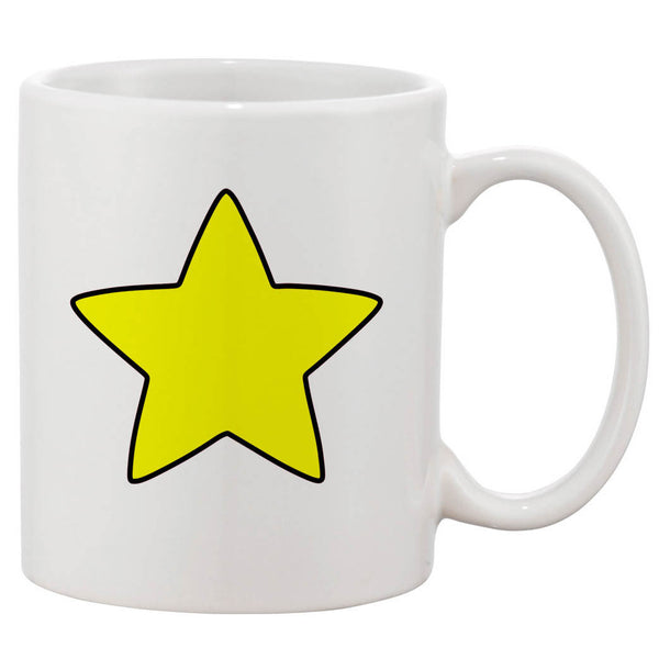 Steven Universe Star White 11 oz. Printing Ceramic Coffee Mug