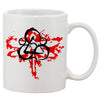 Coheed Cambria Red Dragonfly White 11 oz. Printing Ceramic Coffee Mug
