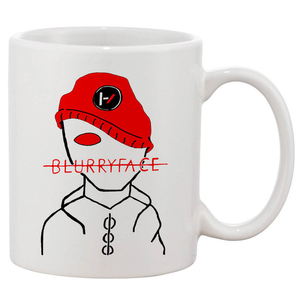 Twenty One Pilots Blurryface Mugs 11 oz Ceramic Design Funny Custom Gift Mug