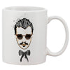 The Killers Brandon Mug Flowers White 11 oz. Printing Ceramic Coffee Mug