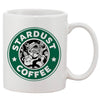 Gift Stardust Coffee Parody White 11 oz. Printing Ceramic Coffee Mug