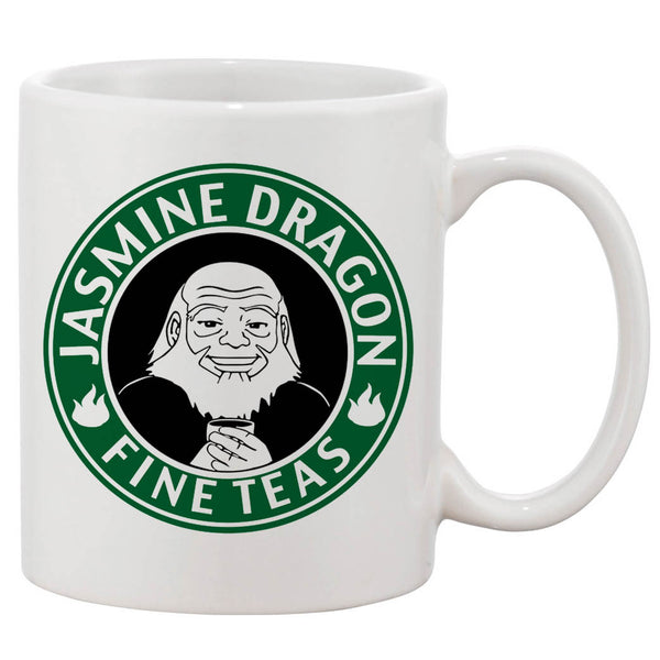 Avatar Jasmine Dragon Tea White 11 oz. Printing Ceramic Coffee Mug