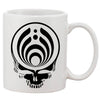 Bassnectar Black Skull Head White 11 oz. Printing Ceramic Coffee Mug
