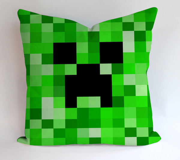 Minecraft Pattern Design Pillowcases Pillow Cases Covers Square Design Home Decoration