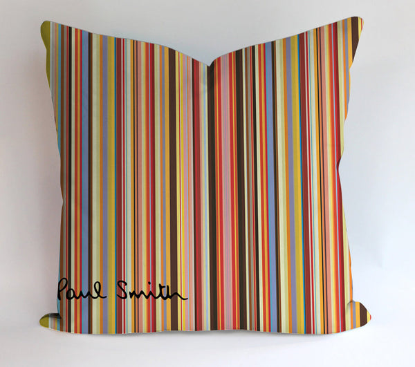 Paul Smith Colorfull Design Pillowcases Pillow Cases Covers Square Design Home Decoration