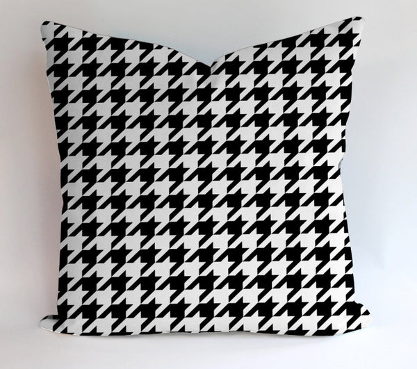 Houndstooth Pattern Pillowcases Pillow Cases Covers Square Design Home Decoration