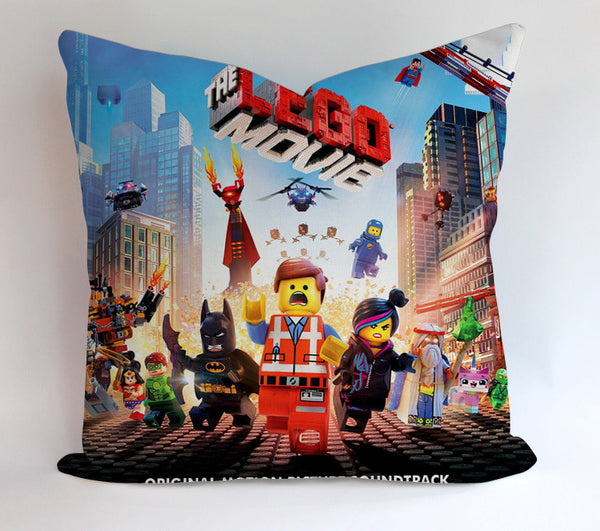The Lego Running Man Pillowcases Pillow Cases Covers Square Design Home Decoration