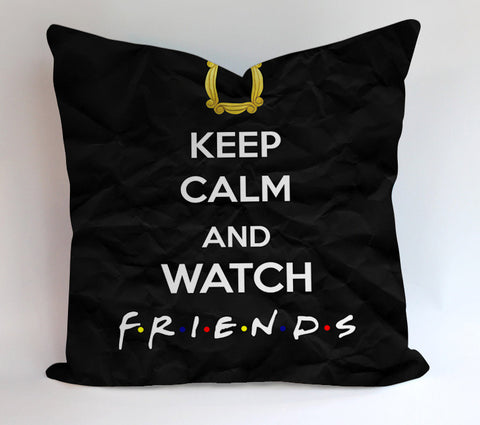 Watch Friends Serial Drama Pillowcases Pillow Cases Covers Square Design Home Decoration