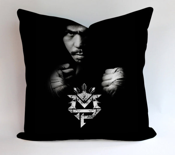 Manny Pacquiao Pacman Pillowcases Pillow Cases Covers Square Design Home Decoration