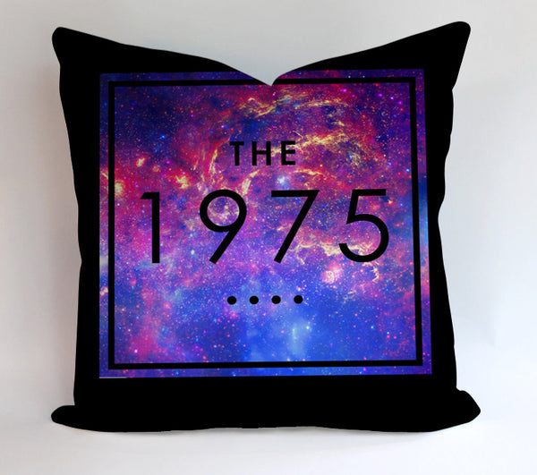 The 1975 Band Galaxy Nebula Pillowcases Pillow Cases Covers Square Design Home Decoration
