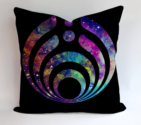 Bassnectar Galaxy Pillowcases Pillow Cases Covers Square Design Home Decoration
