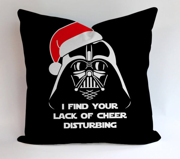 Dart Vader Christmas Pillowcases Pillow Cases Covers Square Design Home Decoration