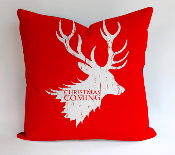 Christmas is Coming Game Thrones Parody Pillowcases Pillow Cases Covers