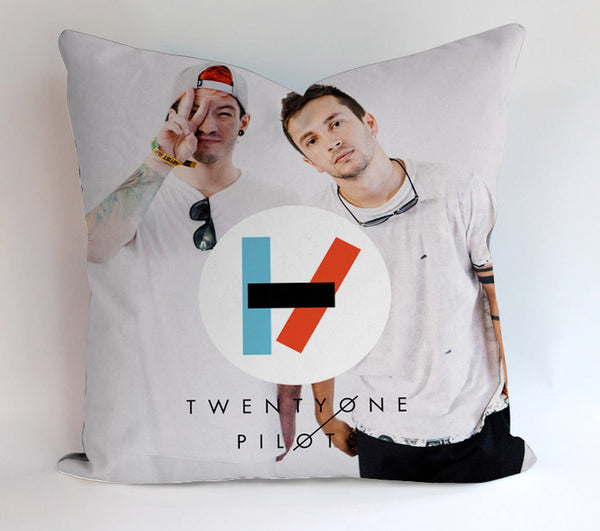 Twenty One Pilots Pillowcases Pillow Cases Covers Square Design Home Decoration