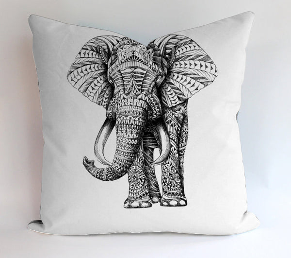 Aztec Elephant Design Pillowcases Pillow Cases Covers Square Design Home Decoration