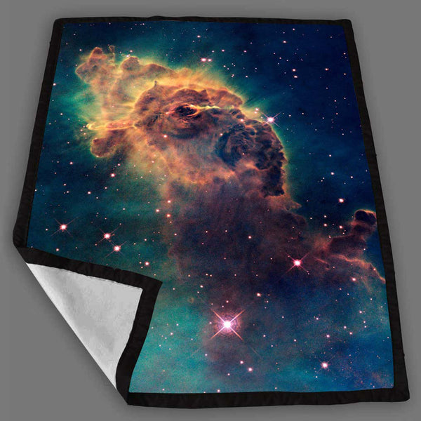 Galaxy Nebula Pattern Blanket Fleece Design Bedding Quilt Throw Blankets