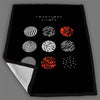 Twenty One Pilots Blurryface Cover Blanket Fleece Design Bedding Quilt Throw Blankets