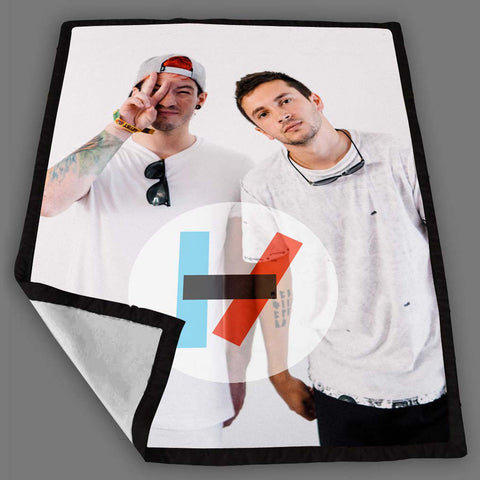 Twenty One Pilots Blanket Fleece Design Bedding Quilt Throw Blankets