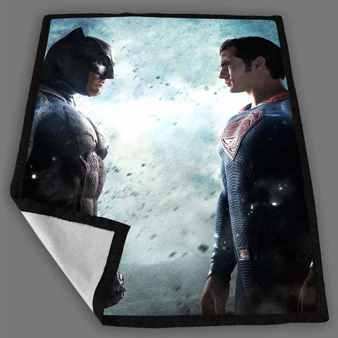 Batman V Superman Fleece Blanket Design Bedding Quilt Throw Blankets