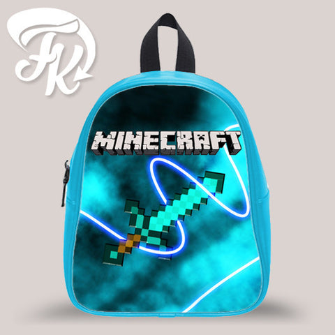 Minecraft Game Sword Kid School Bag Backpacks for Child