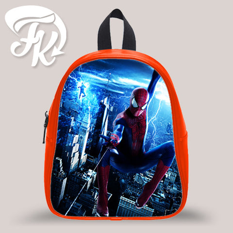 Amazing Spiderman Kid School Bag Backpacks for Child
