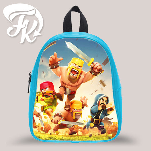 Clash Of Clan Kid School Bag Backpacks for Child