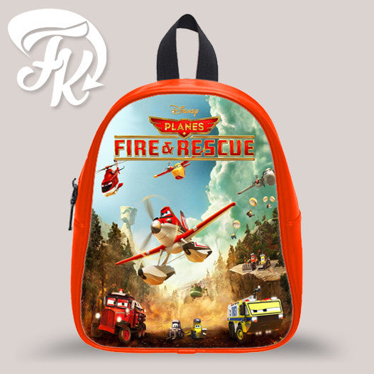 Disney Planes Fire And Rescue Kid School Bag Backpacks for Child