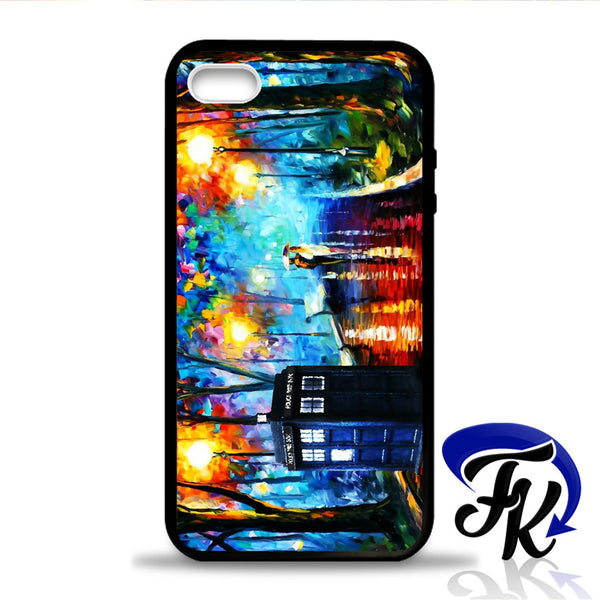 Walking In The Rain Tardis Phonecase, Case, Cover Plastic and Rubber for Samsung Galaxy Cases, iPhone Cases, iPod Cases