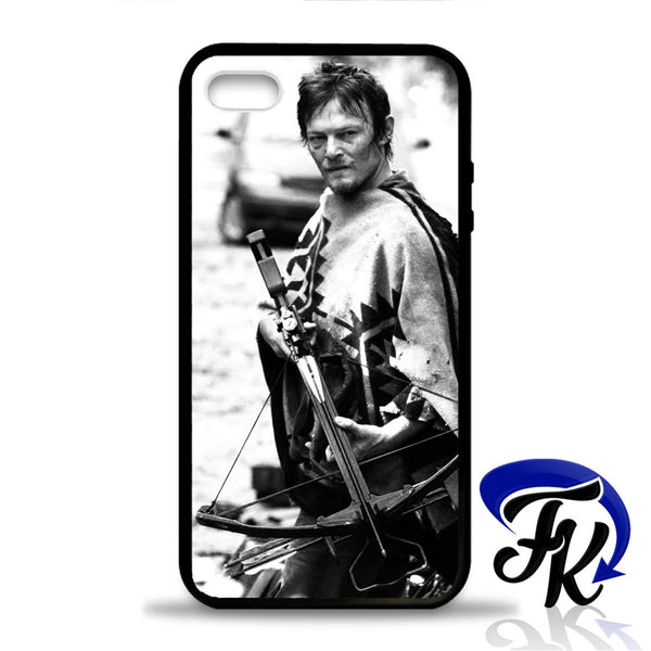 Walking dead Daryl Dixon Phonecase, Case, Cover Plastic and Rubber for Samsung Galaxy Cases, iPhone Cases, iPod Cases