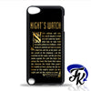 The Night's Watch Phonecase, Case, Cover Plastic and Rubber for Samsung Galaxy Cases, iPhone Cases, iPod Cases