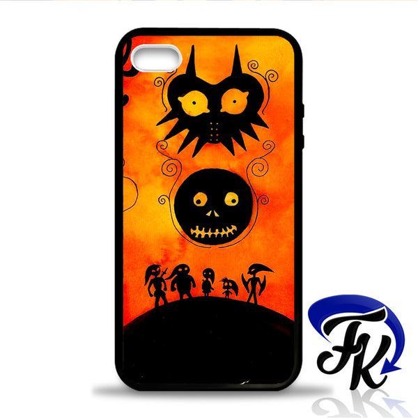 Zelda Majora Mask Phonecase, Case, Cover Plastic and Rubber for Samsung Galaxy Cases, iPhone Cases, iPod Cases