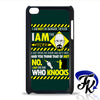 Breaking Bad Iam The Danger Phonecase, Case, Cover Plastic and Rubber for Samsung Galaxy Cases, iPhone Cases, iPod Cases