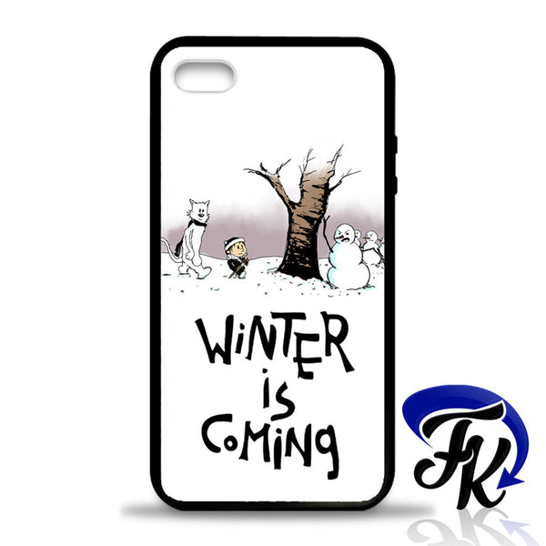 Winter is Coming Phonecase, Case, Cover Plastic and Rubber for Samsung Galaxy Cases, iPhone Cases, iPod Cases
