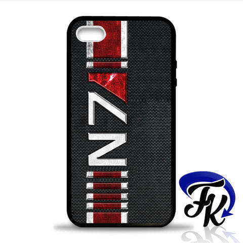 N7 Mass Effect Phonecase, Case, Cover Plastic and Rubber for Samsung Galaxy Cases, iPhone Cases, iPod Cases