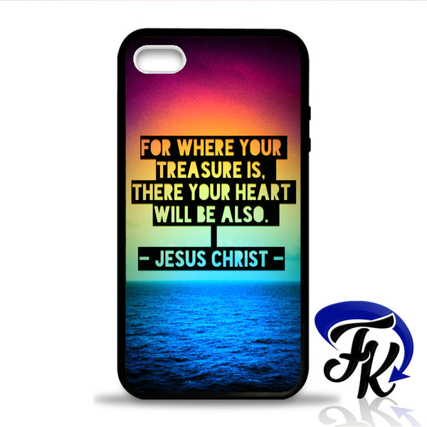 Jesus Christ Quote Phonecase, Case, Cover Plastic and Rubber for Samsung Galaxy Cases, iPhone Cases, iPod Cases
