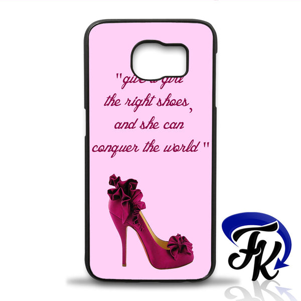 Right Shoes Marilyn Monroe Quote Phonecase, Case, Cover Plastic and Rubber for Samsung iPhone and iPod Case