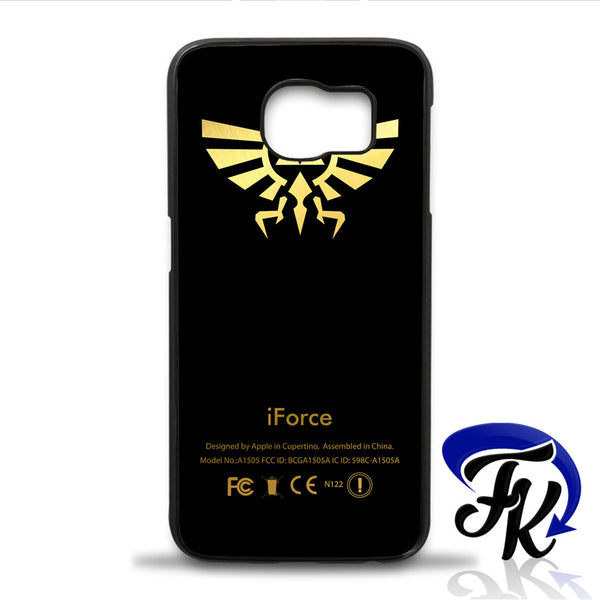 iForce Black Zelda Phonecase, Case, Cover Plastic and Rubber for Samsung iPhone and iPod Case