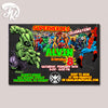 All Superheroes Birthday Party Card Digital Invitation
