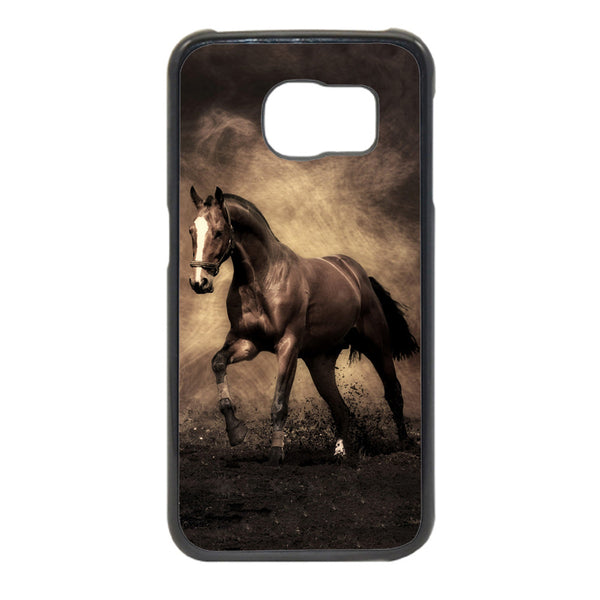 Antique tone Horse Image Phonecase for Samsung Galaxy S6