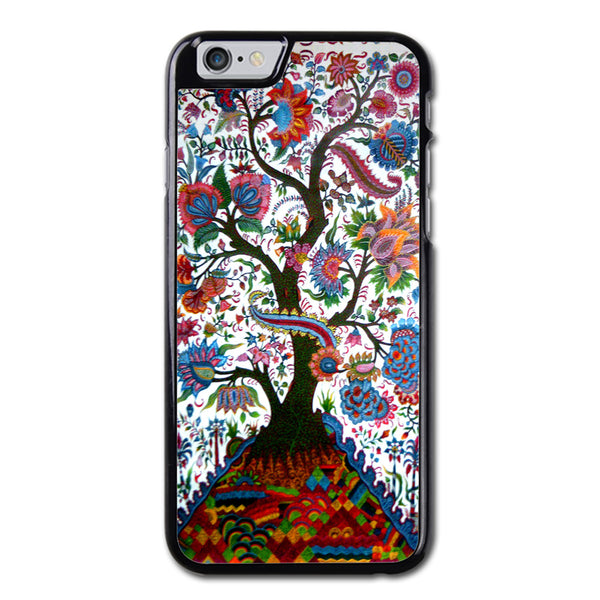 Aqua Vintage Tree Of Life Phonecase for iPhone 6/6S Case