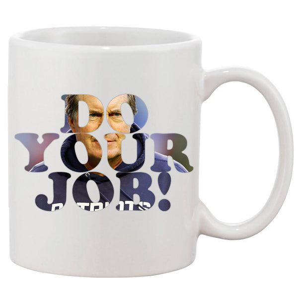 Bill Belichick White 11 oz. Printing Ceramic Coffee Mug