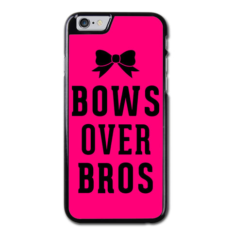Bows over Bros Hot Infra Pink Phonecase for iPhone 6/6S Plus